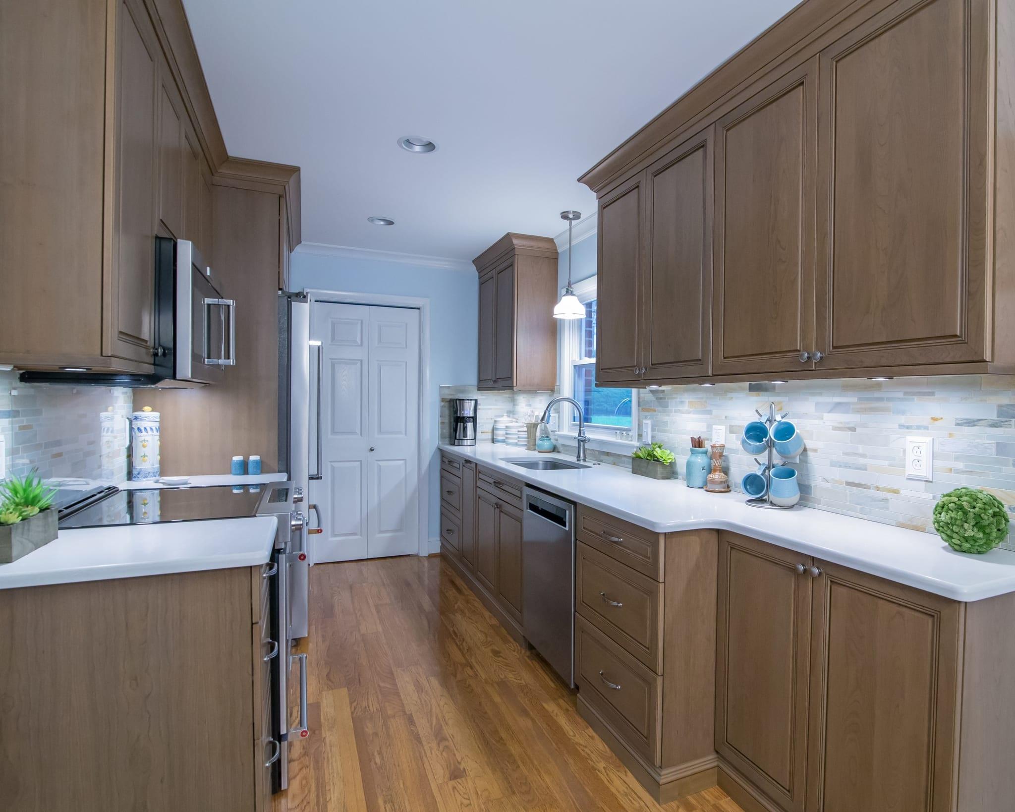Dura Supreme Galley Kitchen Greenbrook Design Center