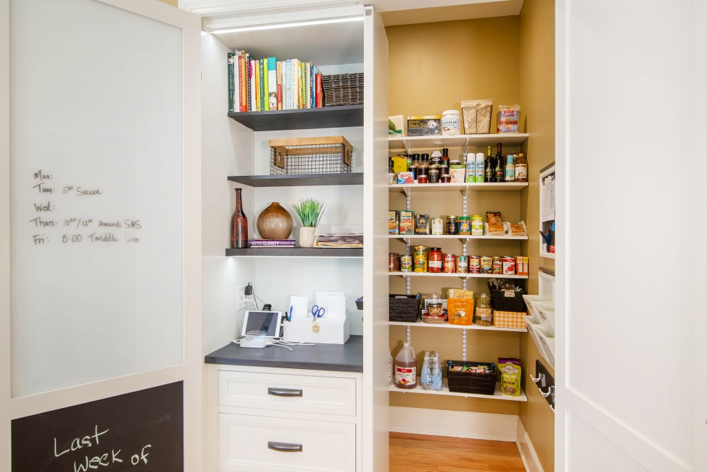pantry and drop zone
