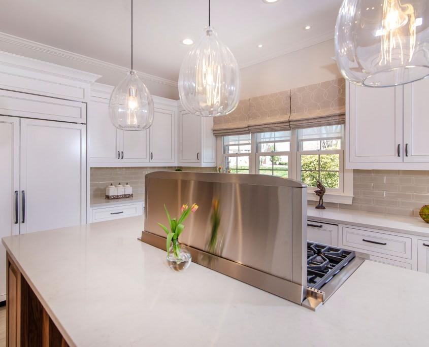 Designer White Kitchen Cabinets | Greenbrook Design Center