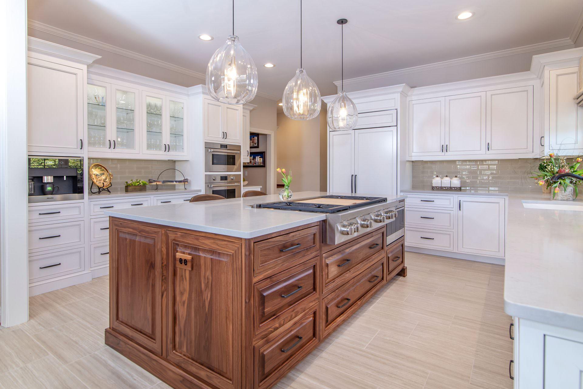 Designer White Kitchen Cabinets Greenbrook Design Center