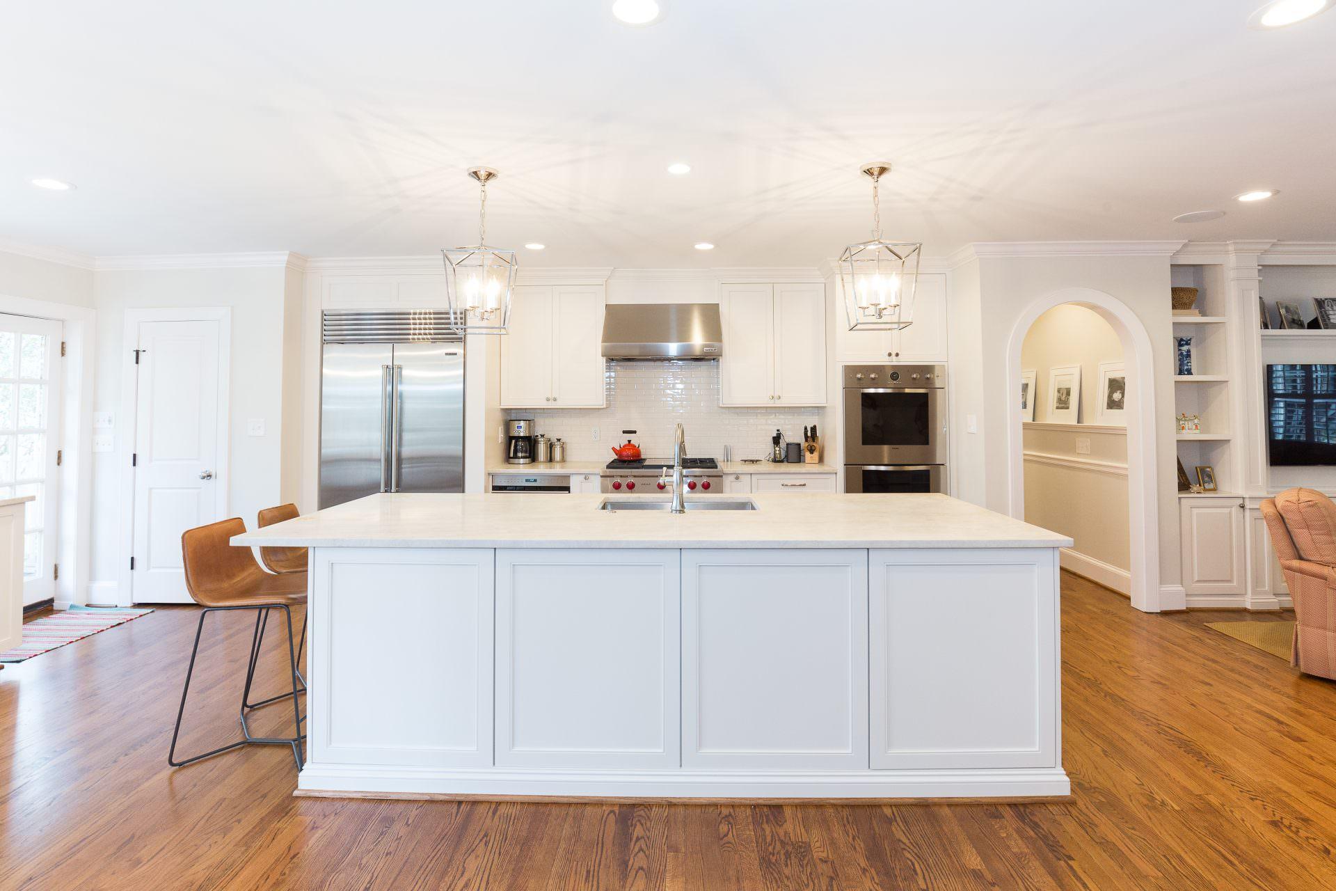 Walker Woodworking custom cabinets, custom white kitchen ...